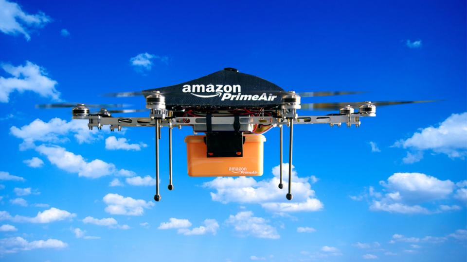 Are Amazon's drones the future of air freight delivery?